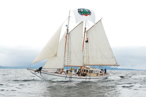 Schooner Mycia custom sailing adventures - Pacific Northwest and Alaska.